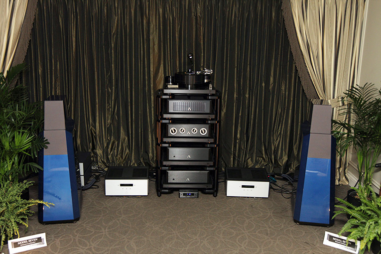Vandersteen Audio room