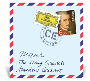 Postage stamp Mozart cover