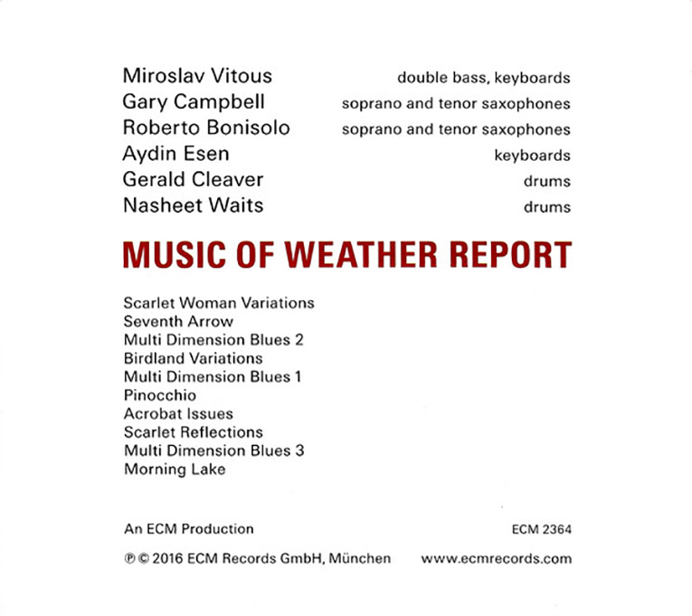 Music of Weather Report