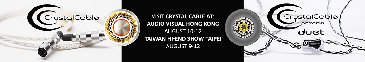 1170x200 Crystal Cable Summer Shows (July 2018)