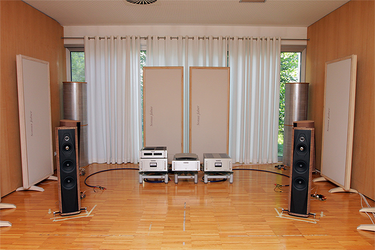 Sonus Faber listening room