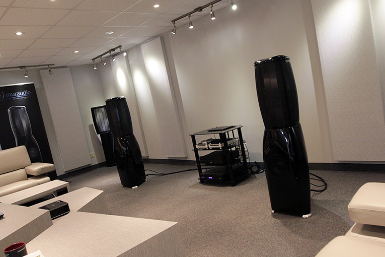 Muraudio's listening room